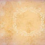 persika för bakgrundsramgrunge Arkivbilder