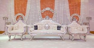 Persikaetapp Royaltyfri Bild