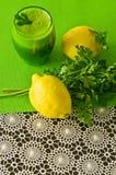 Persiljagrönsakdrink Royaltyfria Bilder