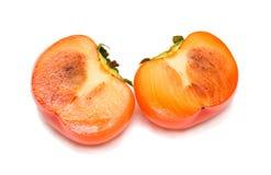 persimmon αποκοπών Στοκ Φωτογραφία
