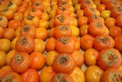 persimmon κόκκινο Στοκ εικόνες με δικαίωμα ελεύθερης χρήσης