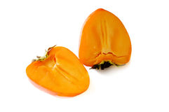 Persimmon. Is vitamin fruit from dessert Royalty Free Stock Photos