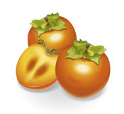 persimmon Arkivfoton