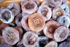 Persimmon cake Stock Image