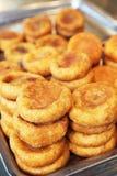 Persimmon cake, Huang Gui persimmon cake Stock Image