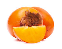 Persimmon close up Stock Photography