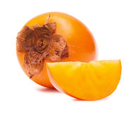 Persimmon close up Royalty Free Stock Images