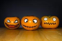 Persimmon duch Halloween Zdjęcie Stock