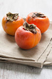 Persimmon fruit Royalty Free Stock Images