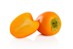 Persimmon fruit. Stock Photos
