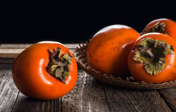 Persimmon fruit Stock Image