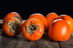 Persimmon fruit Stock Photo