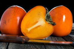 Persimmon fruit Stock Photography