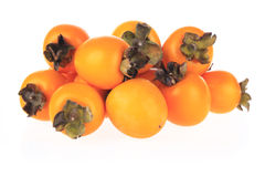 Persimmon fruits Stock Photo