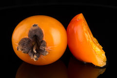 Persimmon fruits Stock Photography