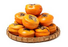 Persimmon fruits stock images