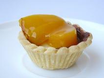 Persimmon fruits tart Stock Photos