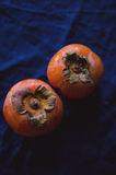 Persimmon fruits Royalty Free Stock Images