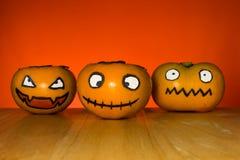 Persimmon ghost of Halloween Stock Photos