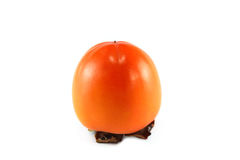 Persimmon isolated Stock Image