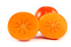 Persimmon isolated Stock Photo