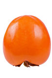 Persimmon isolated on white background. Close up Stock Images