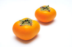 Persimmon isolated Royalty Free Stock Image