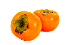 Persimmon isolated Royalty Free Stock Photo
