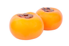 Persimmon isolated on white background Royalty Free Stock Image