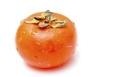 Persimmon isolated on white background Royalty Free Stock Photography