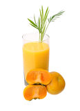 Persimmon juice Stock Photos