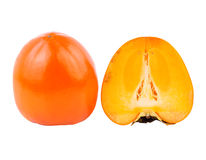 Persimmon or kaki fruit Stock Photos