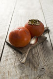 Persimmon - kaki Stock Images