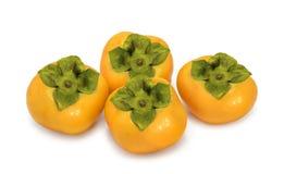 persimmon odosobniony biel Zdjęcia Stock