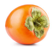 Persimmon owoc odizolowywająca Zdjęcia Stock
