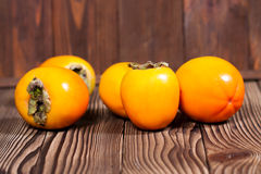 Persimmon. Ripe, sweet fruit Stock Images