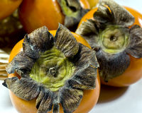 persimmon sharon Royaltyfria Bilder