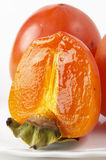 Persimmon slice Stock Images