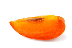 Persimmon slice Stock Image