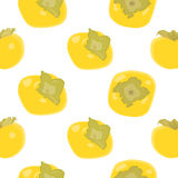 Persimmon vector background Royalty Free Stock Images