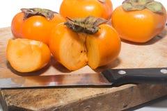 persimmons Foto de Stock