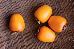 Persimmons Royalty Free Stock Images