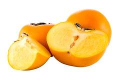 persimmons dojrzali Zdjęcia Royalty Free
