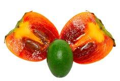 persimmons feijoa Στοκ Φωτογραφίες