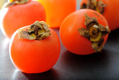 Persimmons fruits Royalty Free Stock Photos