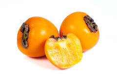 Persimmons fruits Stock Photography