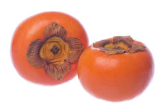 Persimmons Isolated Stock Images