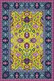 Persisk detaljerad matta Arkivbilder