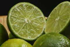 Persisk limefrukt, också bekant Tahiti limefrukt arkivbild