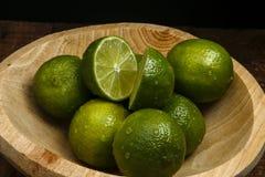 Persisk limefrukt, också bekant Tahiti limefrukt royaltyfri foto